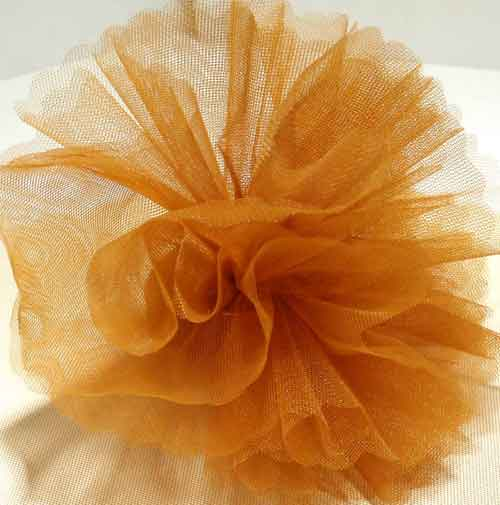 Rust Brown Tulle