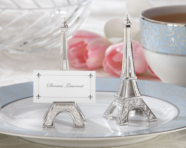 """Eiffel Tower"" Place Card Holder"