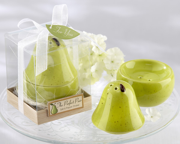 Pear Salt & Pepper Shakers