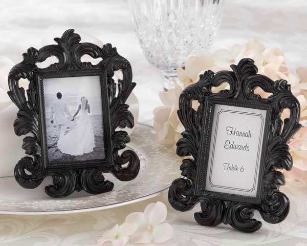Black Baroque Elegant Frame