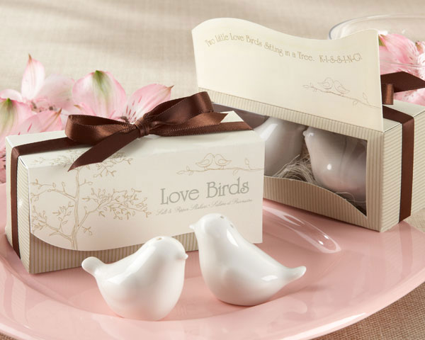 Love Birds - Ceramic Salt & Pepper Shakers
