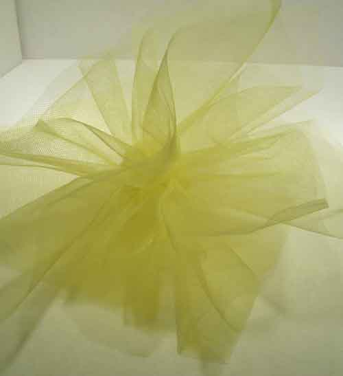 Yellow Square Tulle