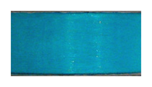Aqua Organza Ribbon