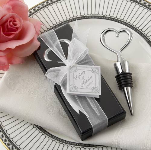 Gift Boxed - Heart Bottle Stopper
