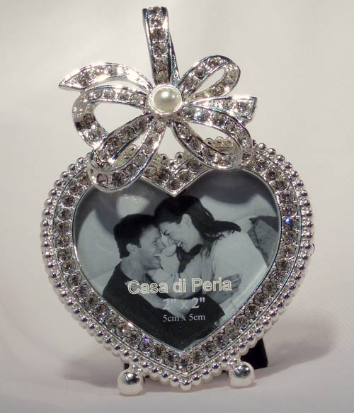 Love Heart - Crystal Frame