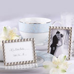 Silver Pearls Photo Frame