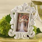 Baroque White Frame