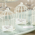 Antique White Birdcage