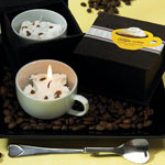 Cappuccino Cup Candle