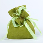 Bags - Lime Green (Pkt 10)