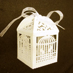 Birdcage Favour Box - 12pc