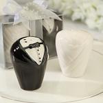 Bride & Groom Salt/Pepper