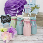 Ceramic Milk Bottles